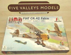 241021/02 Italeri 1437 Fiat CR.42 Falco 1:72 Scale