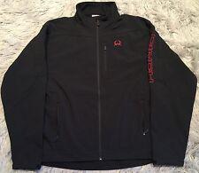 Cinch Men's Bonded Softshell Jacket Black/Red - XXL NWT
