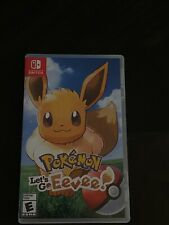 Pokemon: Let's Go, Eevee! (Nintendo Switch, 2018) COMPLETE