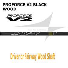 NEW UST Proforce V2 BLACK Wood Shaft *Select Weight & Flex* 6R 6S 6X 7S 7X