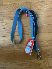 """KONG Comfort Padded Handle Traffic Leash - 4 ft by 1"""" - Blue - NWT"""