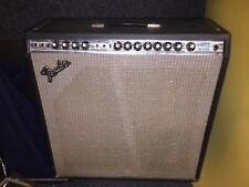 Vintage Fender Super Reverb Silverface  tube amp w/footswitch