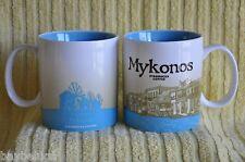 NEW! Starbucks Coffee Global City Mug MYKONOS party island :)