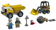 NIB LEGO City Set 4201 Loader Dump Truck Minifigures 62361 21709 42291 30385 lot