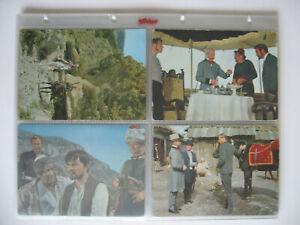 """Heinerle Postkarten, Sammelbilder, Karl May, """"Der Schut"""", 1964, 43 verschiedene"""