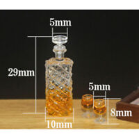 Dollhouse accessories  miniature model props simulation wine bottle  3C