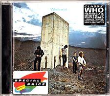 THE WHO- Who's Next CD 1995 UNRELEASED/REMIXED/BONUS TRACKS