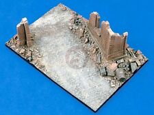 Verlinden 1/35 At the Chapel Street Section w/Wall Ruins WWII Diorama Base 1355