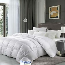 LUXURY HOTEL QUALITY DUCK FEATHER & DOWN DUVET QUILT 13.5 TOG SINGLE  BED QUILT