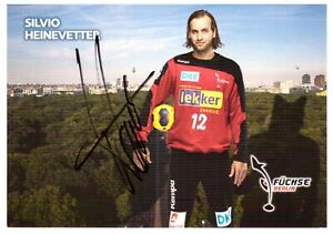 Silvio Heinevetter Handball Füchse Berlin 2012/13 Autogrammkarte signiert