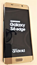 SAMSUNG GALAXY S6 EDGE 32GB oro platino (Funzionante) carica batterie incluso