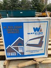 "Certigroove Western Red Cedar Number 1 18"" sidewall Shingles"