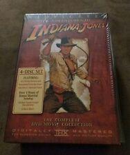 Indiana Jones - The Adventure Collection (DVD, 2003, 4-Disc Set, Widescreen Che…