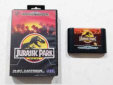 Sega Mega Drive Jurassic Park game PAL AU