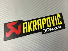 Adesivo Stickers AKRAPOVIC Tmax T max Alte Temperature High Temperatures