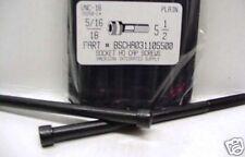 5/16-18x5-1/2 Hex Socket Head Cap Screws Alloy Steel Black (4)