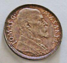 Czechoslovakian Silver Medal . 1935 .Masaryk .