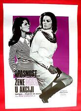 PELIGRO...! MUJERES EN ACCION 1969 MEXICAN RENE CARDONA Jr. EXYU MOVIE POSTER 2