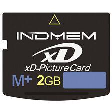 pour Olympus appareil photo Fujifilm 2 Go indmem xD-Picture Carte Mémoire Flash