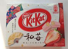 Japan kit kats limited nestles 3P mini kitkat deluxe  strawberry candy gift rare