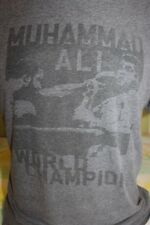 Muhammad Ali World Champion Old Navy Men's Gray T Shirt Size Large