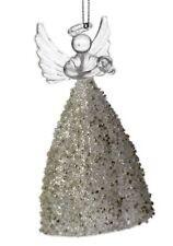 Vetro angelo appendere Ornamento Decorazione Albero di Natale