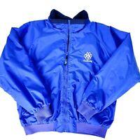 University of Kentucky Men's Size 2XL Blue Fleece-Lined Bomber Jacket Wildcats