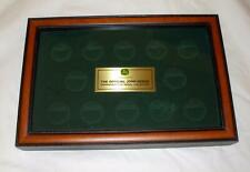 Franklin Mint Glass-Top Coin Display Box