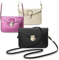 kleine Damentasche Clutch - Tasche Metallic - Farben