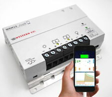 DUAL CARICA DELLA BATTERIA Controller/Regolatore MPPT WESTERN WRM15 Smartphone Display