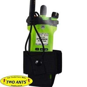 Two Ants Large Radio Wrap & Retaining Strap - XLDK1BK