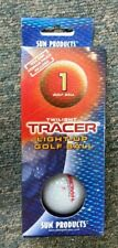 Twilight Tracer - Light Up Golf Ball With Tees & Pouch Night Golf Glow in Dark