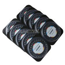 10 Packs Dental Orthodontic Ceramic Bracket 5*5 Roth Slot.018 Hooks 3-4-5 IT
