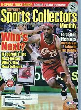 JUNE 2008 LEBRON JAMES COVER SPORTS COLLECTORS MONTHLY 5 SPORT PRICE GUIDE