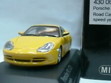 WOW EXTREMELY RARE Porsche 996 911 1999 GT3 Yellow 1:43 Minichamps-GT2-RS-Spark