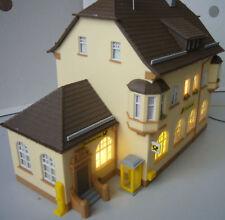 HO kibri Post mit Licht fertig gebaut