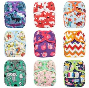 One Size Double Gussets Waterproof Cloth Nappy Cover Wrap Nappy Pilcher Pilchers