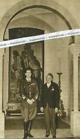Herzog von Aosta in Berlin - mit dem Botschafter - um 1935        U 16-24