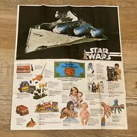 "RARE Kenner Star Wars Vintage Toy Advertisement ""$45 Cash Refunds"" Poster 1978"