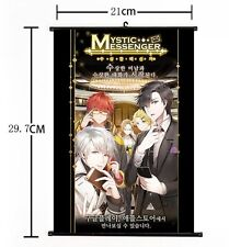 Hot Japan Anime Mystic Messenger Luciel Choi Poster Wall Scroll Home Decor 02
