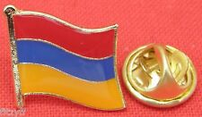 Armenia Armenian Country Flag Lapel Hat Cap Tie Pin Badge Brooch Republic