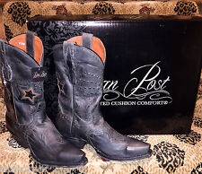 Dan Post Boot DALLAS STAR Cowboy Western Leather Black Snip Toe Boots NEW 7.5 M