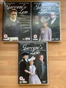 Garrow's Law - Complete Series 1-3 (6 Disc DVD) Andrew Buchan/Alun Armstrong