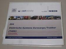 Schulungsunterlage Iveco Eurocargo / Trakker Elektrische Systeme Stand 2009!