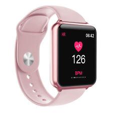 Women Girls Sport Smart Watch Fitness Tracker with Pedometer Heart Rate Monitor