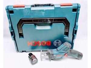 Bosch GSA 10.8v V-LI Li-Ion Cordless Pocket Sabre Saw Drill Driver 2x batteries