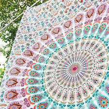 Mandala Bohemian Bedspread Indian Throw Cloth Tapestry Art Wall Hanging Hippie