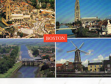 Postcard Lincolnshire Boston un posted