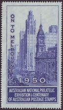 1950 ANPEX BLUE LABEL (PERFORATED) UNUSED - NO GUM  (A11901)