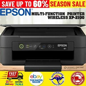 Epson Expression Home Printer XP2100/2105 3-in-1 Inkjet USB WiFi Mobile Print AU